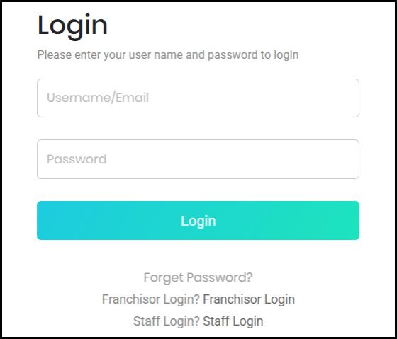 login box