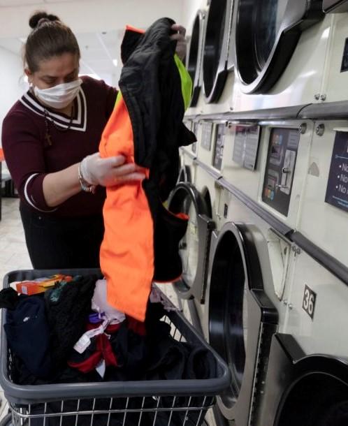 virus laundry