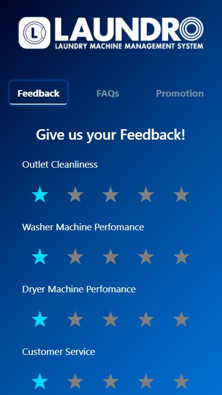 Feedback form on your virtual Digital Assistance